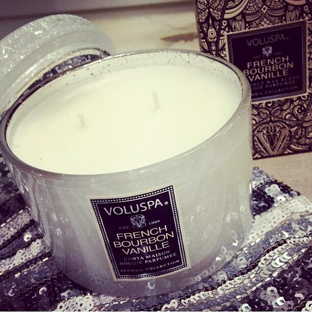 Be sure to get glowing tonight with our #FrenchBourbonVanille #candle! #TisTheSeason #VoluspaHoliday http://t.co/CO8dAmt4pU
