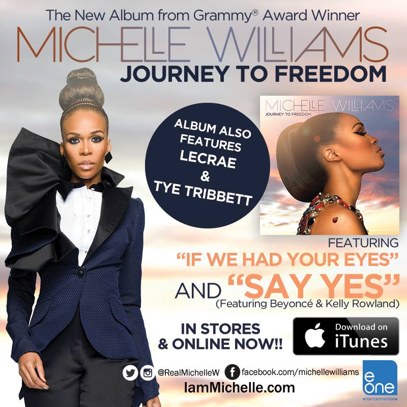Vote 4 @RealMichelleW Journey To Freedom #SAYYES  http://t.co/xWtQfAFVsf You can vote up to 3xs per household! http://t.co/P3sNgY9l07