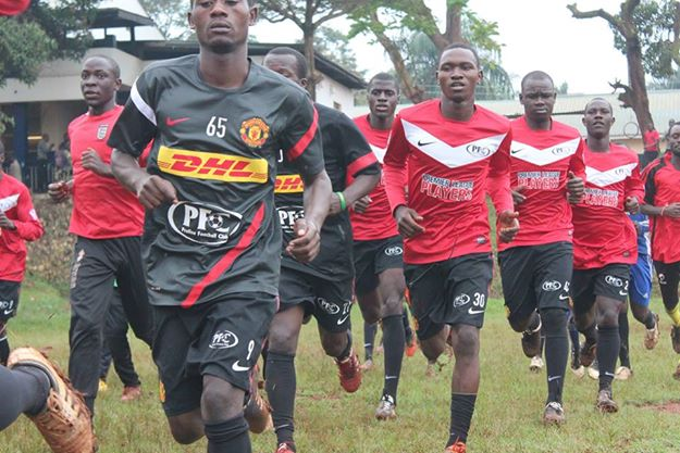 """""""@ProlineFC: Proline FC Players during a training session. The Kits are provided by @rioferdy5 http://t.co/i6QuI0zdzu"""" > I will be back! 🙏"""