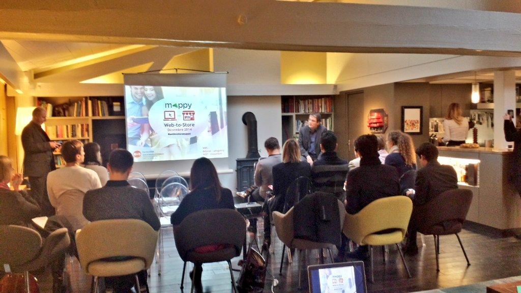 Bruno Dachary prend la parole et évoque la stratégie de Mappy sur le #webtostore. #webtostoremappy http://t.co/F2ljDTTnK2