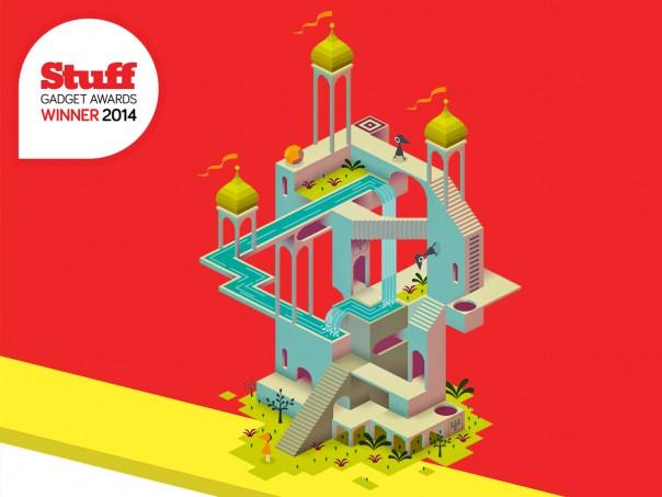 Stuff Gadget Awards 2014 - Monument Valley is the Mobile Game of the Year #StuffAwards http://t.co/GYRROTlePC http://t.co/npSetTgOww