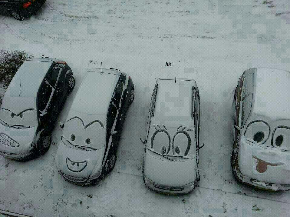넘 이쁜 주차장 차주도 기분이 좋겠다.ㅋㅋ http://t.co/agLrkn3kKV