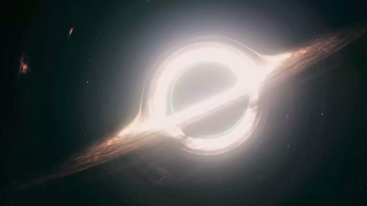 Interstellarでブラックホール見たときの感想:「あっ、営団地下鉄だ」 http://t.co/ywCxb0l2f4