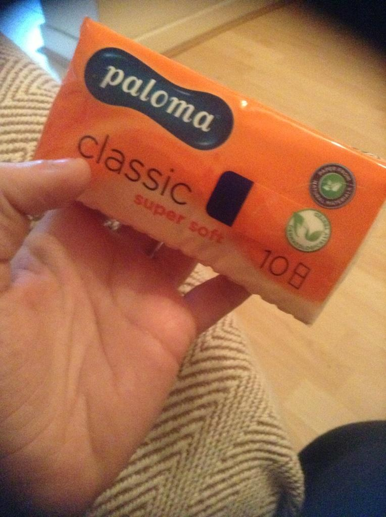 I've got no FAITH in these tissues.... http://t.co/LEErflH2qZ