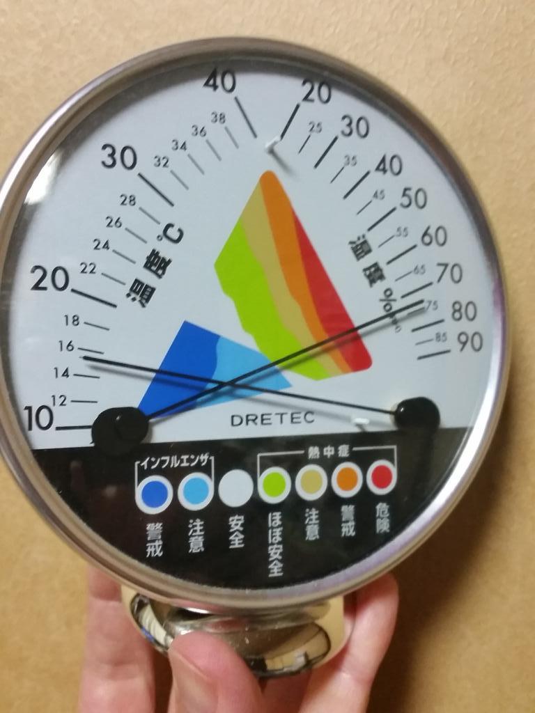 こいつのすごいところは、複雑な機構をなにひとつ使わず、枯れた技術だけを用いている点だ。温度と湿度の関数として決まる熱中症とインフルエンザのリスクがなんの説明もなくわかる。しかも、どう対策すれば危険域を脱するかまで、誰にでもわかる。 pic.twitter.com/DF7GQzredK
