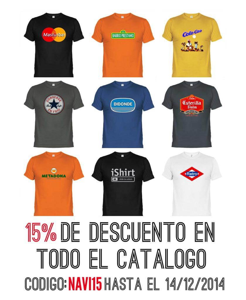 04bd6b2d4c Código  NAVI15  camisetas  camisetasonline  latostadora  torotoro Entra en  http   www.latostadora.com camisetastorotoro3 …pic.twitter.com 3Hn5Af4Uzk