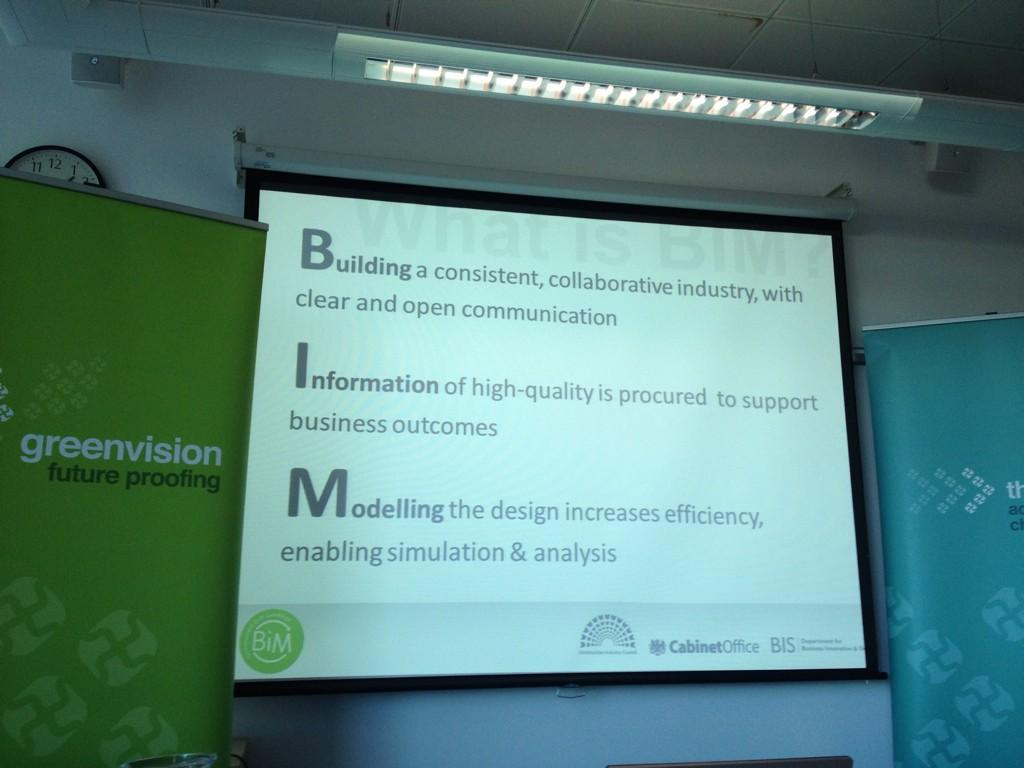 Work definition of #BIM from @richardlane Cabinet Office #greenbim #purpose #businessoutcomes http://t.co/P0tFS3HmcB
