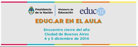 Thumbnail for Jornada de cierre del año: Educ.ar en el AULA