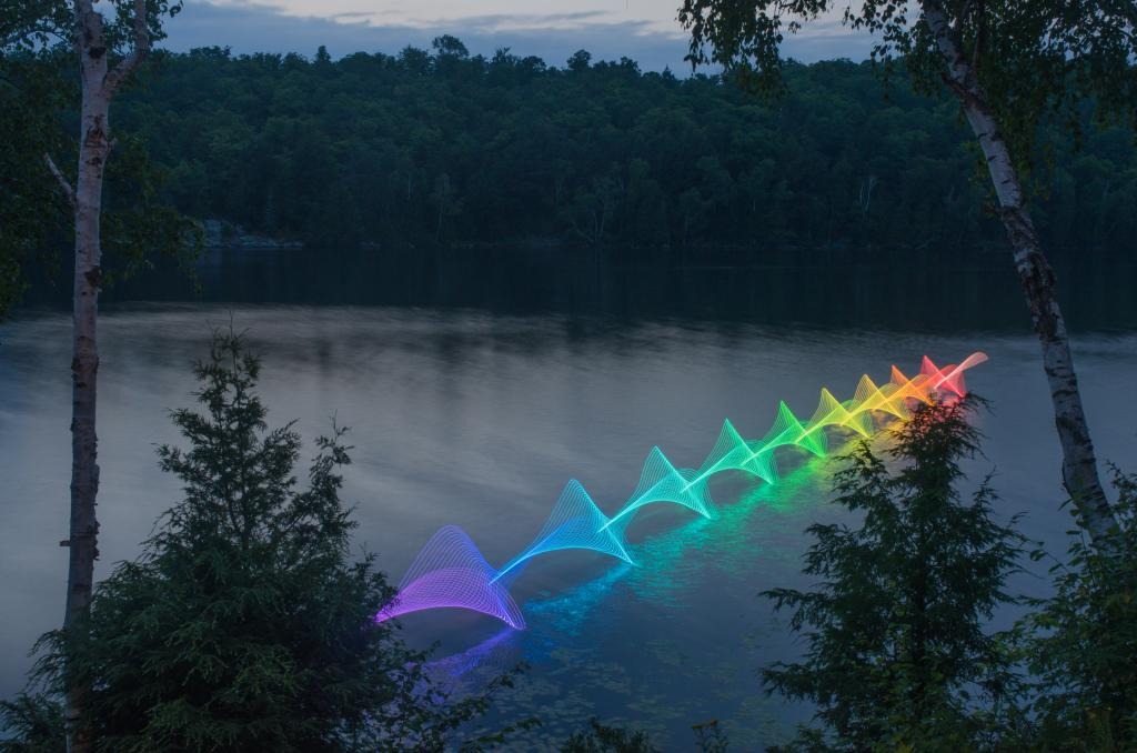 The Motions of #Kayaking and #Canoeing Recorded through Light Painting on Canadian Waterways http://t.co/USofemJkRD http://t.co/j2zWznOavr
