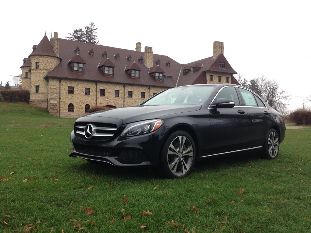 Mercedes-Benz C300 at Larz Anderson Auto Museum. @MBofBurlington http://t.co/cYYLaS3wxR