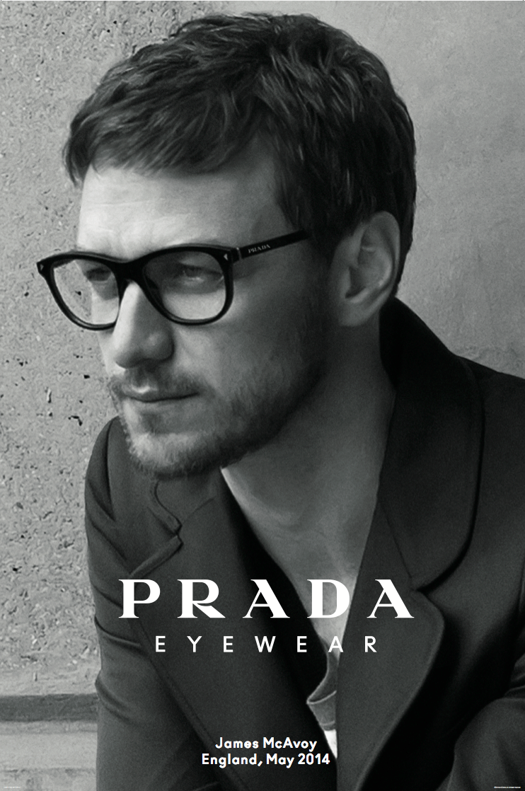 """0600cdcbee GOSTEI DE ÓCULOS """" LensCrafters  Do you like James McAvoy s glasses  Get  the  Prada Eyewear Collection today    pic.twitter.com gHMR6PNE3C"""""""