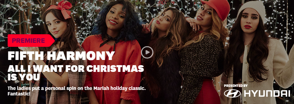 Fifth Harmony All I Want For Christmas Is You.Epic Records On Twitter Fifthharmony S All I Want For