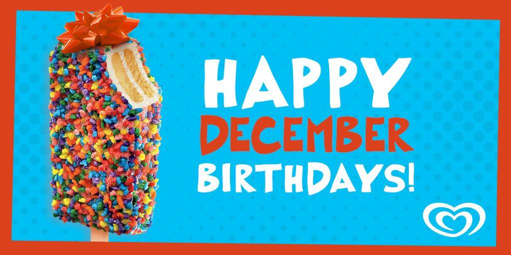 Happy Birthday December Good Humor (@GoodHumor...