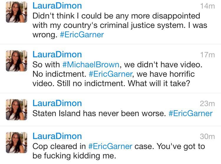 'Impartial' CBS hack Laura Dimon reacts to Eric Garner