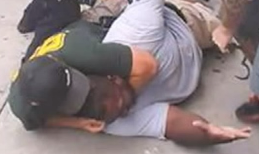 u can  choke a man to death on camera for selling cigs to feed his family while he pleads 4life #EricGarner #2014 http://t.co/RsklFbYdA8