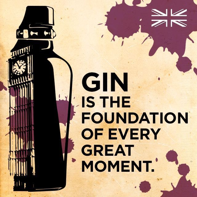 #Gin is the foundation of every great moment. http://t.co/qT33EzHMmx