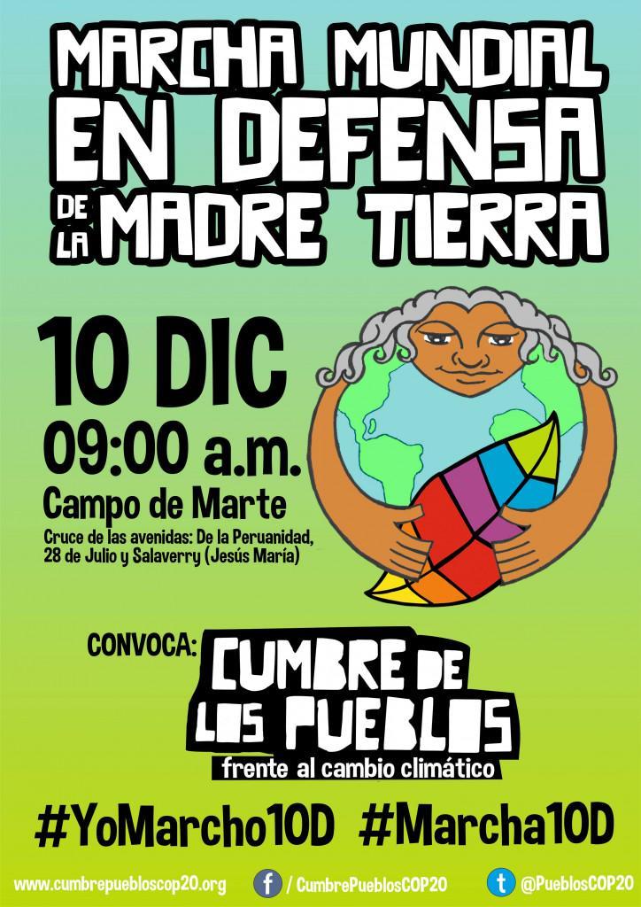 NADA NOS DETENDRÁ En 1 semana marcharemos de nuevo en defensa del clima global http://t.co/SDJ7SmDdlj #YoMarcho10D http://t.co/z1uqu9geLL