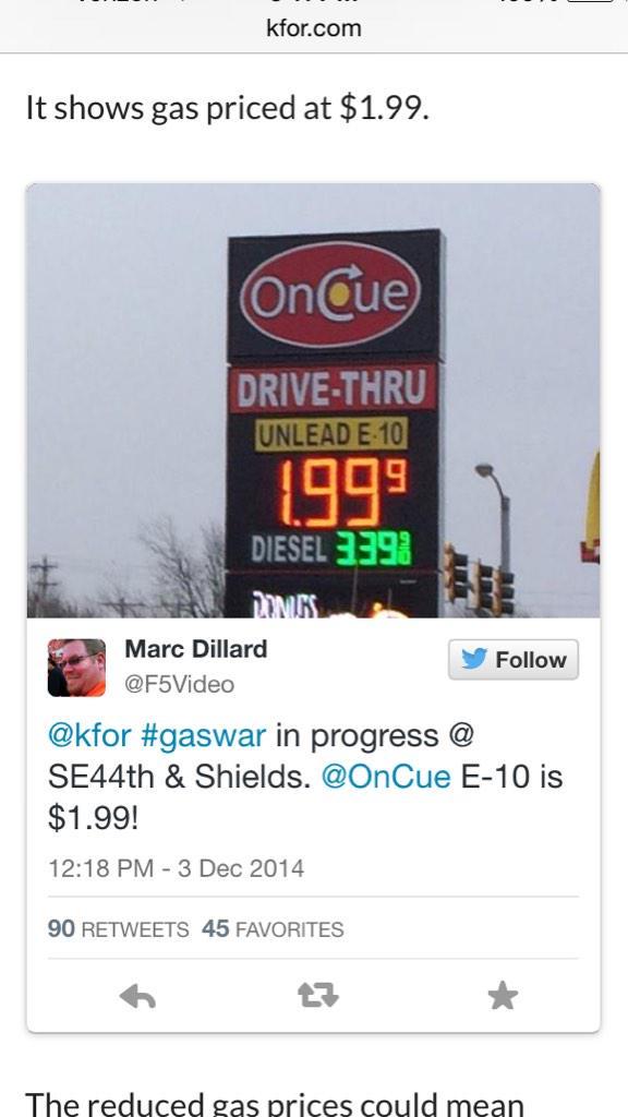 Gas Prices Okc >> Gas Prices Gas Prices Okc