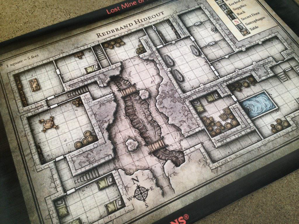 photo about Redbrand Hideout Map Printable titled HeshenChef upon Twitter: \