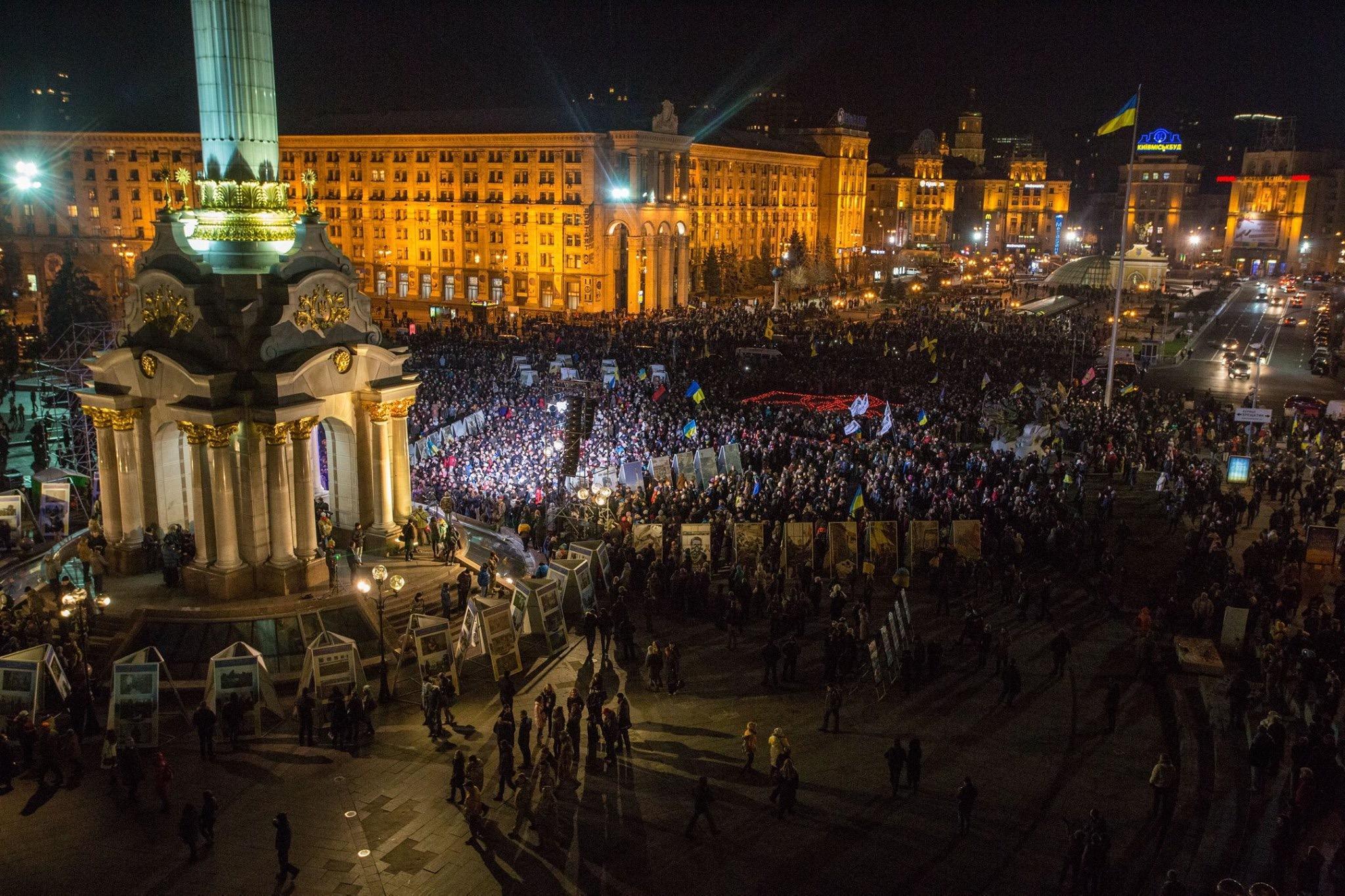 Ночь в Донецке прошла крайне напряженно. Артиллерийские залпы и взрывы были слышны во многих районах, - мэрия - Цензор.НЕТ 6055