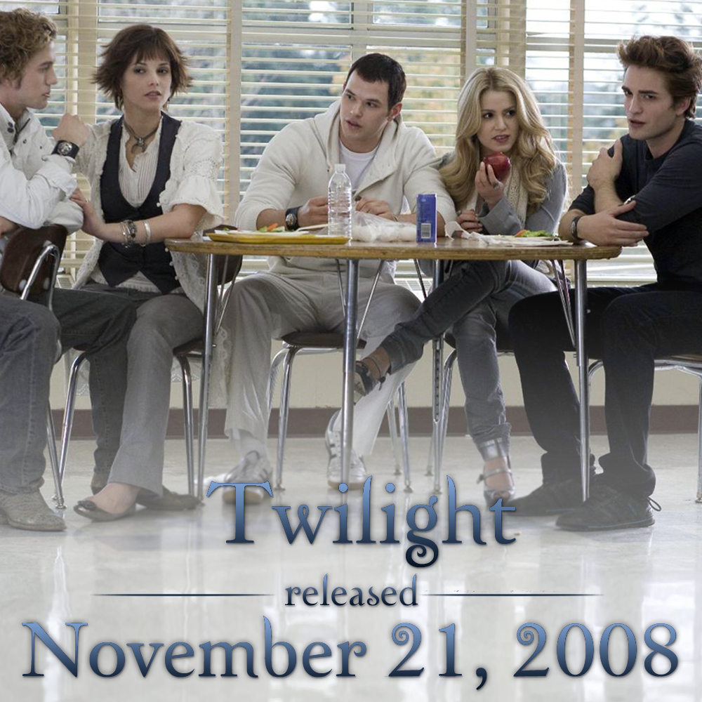 It's been SIX years since Edward and Bella met. Celebrate the only way you know how ... #TwilightMarathon! http://t.co/BcUYgpJPar