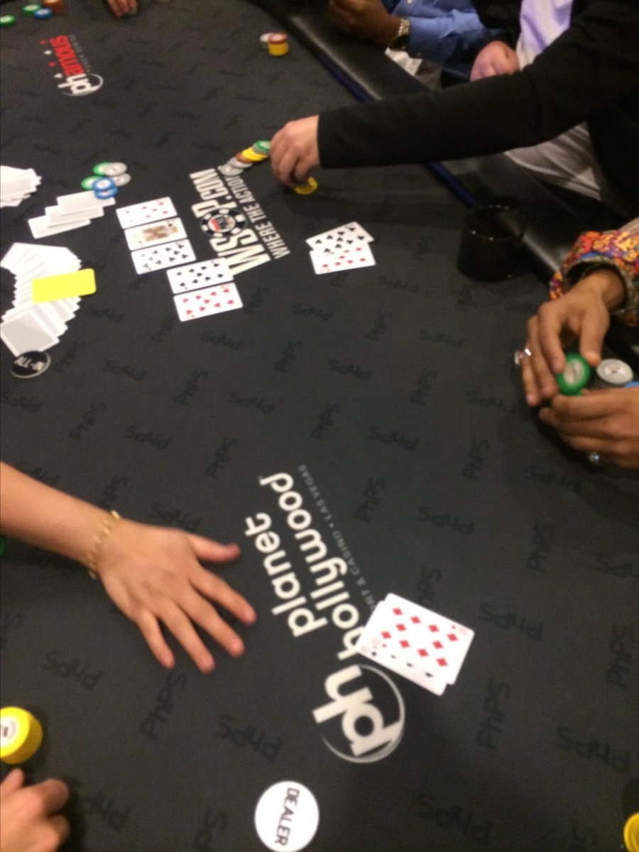 So @KevinPhwap was just all in (95% of his stack) preflop with 99 v tt. Flop kt7... 9... 9 http://t.co/ed6R0J6wMa