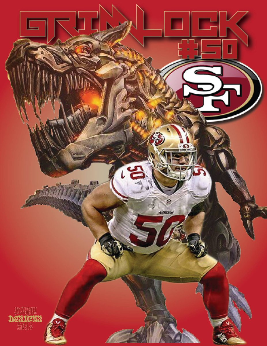 @49ers @JedYork Borland/Grimlock...I like the sound of that... http://t.co/cf6mbauFUC