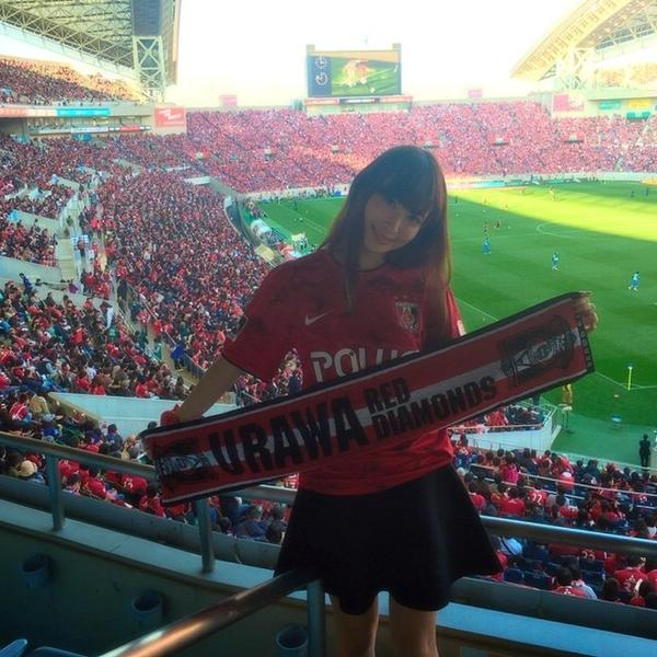 Forum 48group On Twitter Kojima Haruna Saitama Stadium 2002 She Watched Urawa Reds Diamond Vs Gamba Osaka Game Http T Co 1w31pcbjab