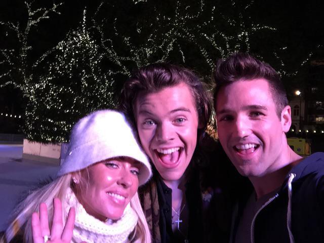 Great working with this guy @Harry_Styles! @onedirection @BrianneTV  #headbangers! http://t.co/FMXa9JD9YK