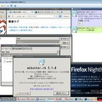 Windows VMware 6.0.4 上で mikutter その他