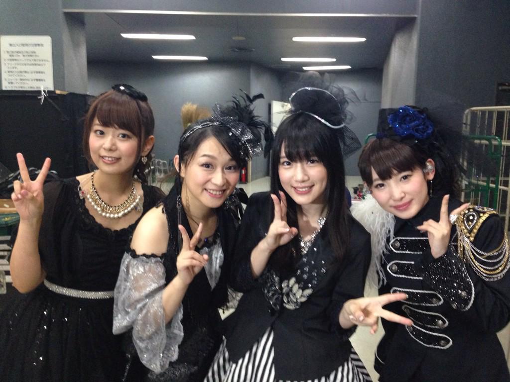ANIMAX MUSIXコラボは井口裕香さん、今井麻美さん、南條愛乃さんと真礼さんで「Paradise Lost」歌わせてもらいました!!最高!! #animaxmusix pic.twitter.com/UbS6bJ4Lnu