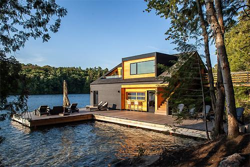 Luxury Goals On Twitter Cool Little Lake House In The Middle Of