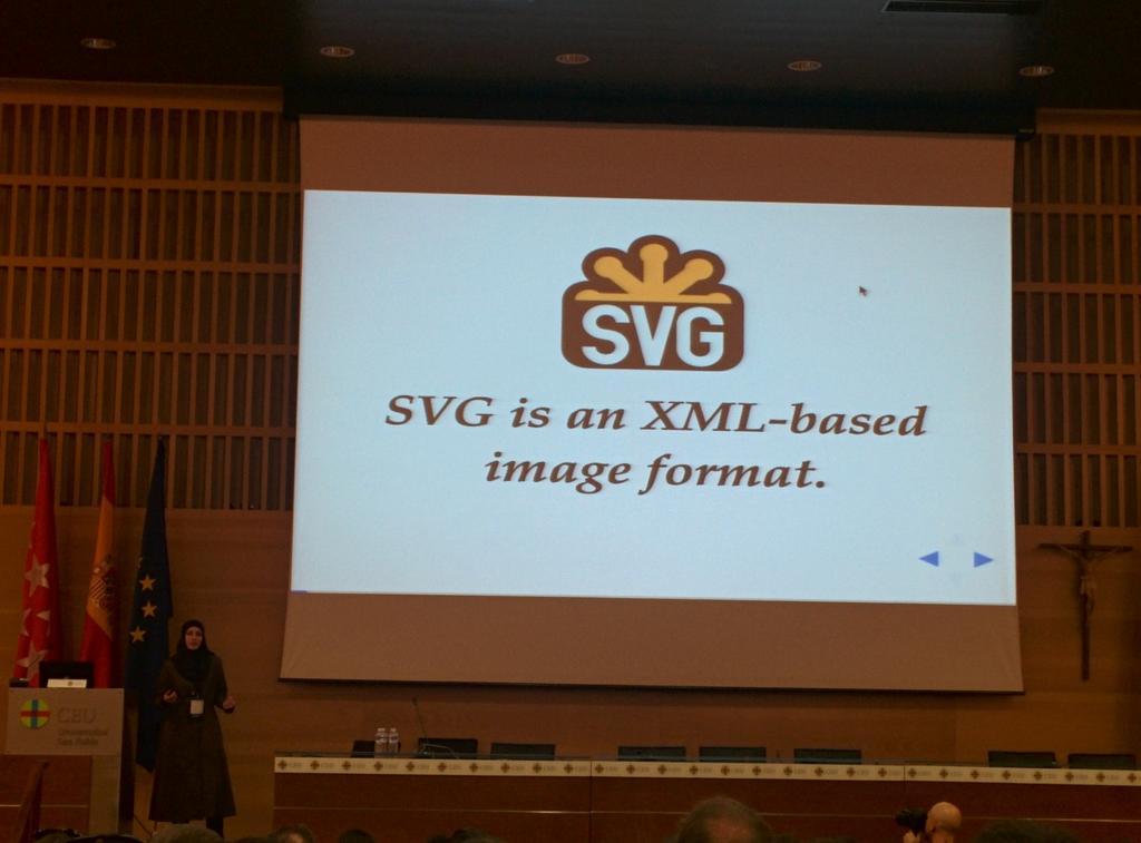 SVG rocks! cc/ @SaraSoueidan #codemotion_es http://t.co/KmhtNiL4pC