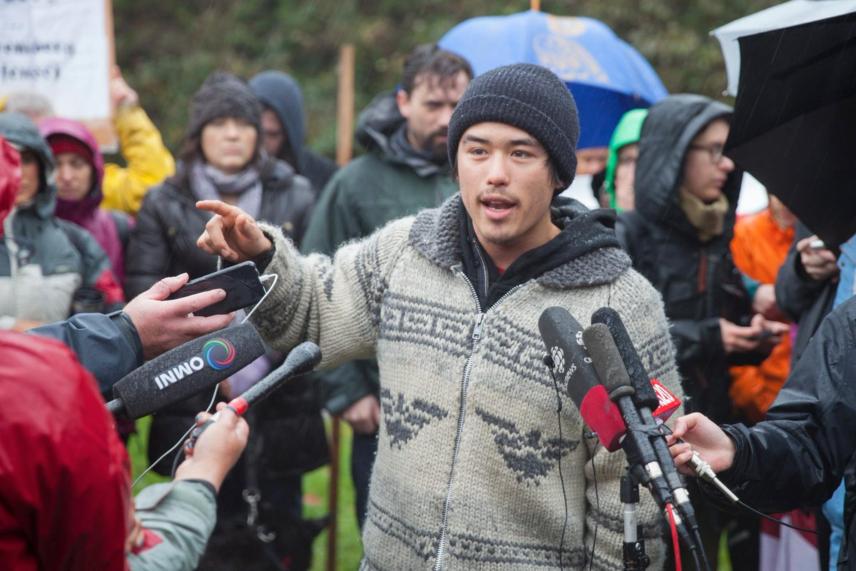 David Suzuki's grandson speaks after his arrest for protesting Kinder Morgan http://t.co/HzyuRrPU2G #BurnabyMountain http://t.co/5RLOjZpWMG