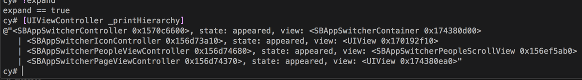 Wow +[UIViewController _printHierarchy] is like -[UIView recursiveDescription] but for view controllers! #Development http://t.co/nk2faboQxa