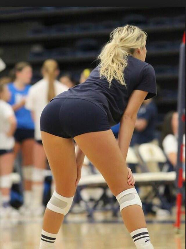 Hot ass volleyball shorts