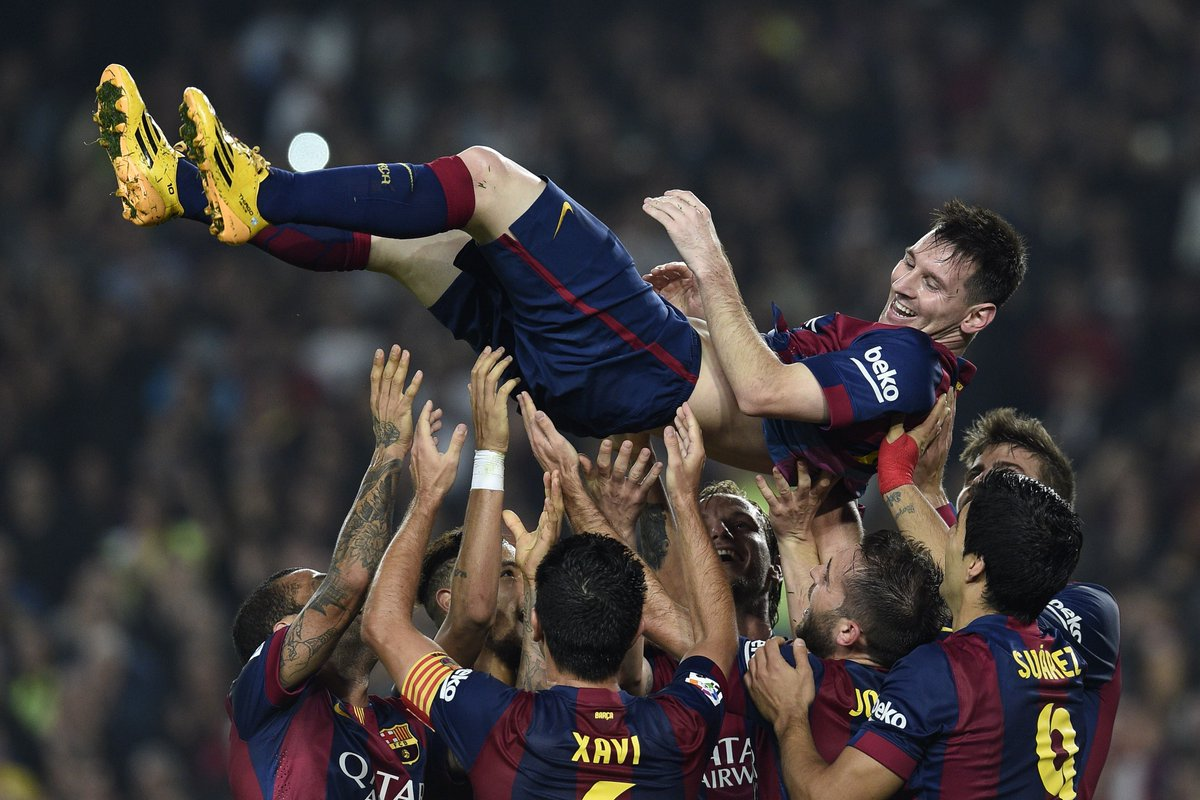 Messi Breaks Zarra's Record