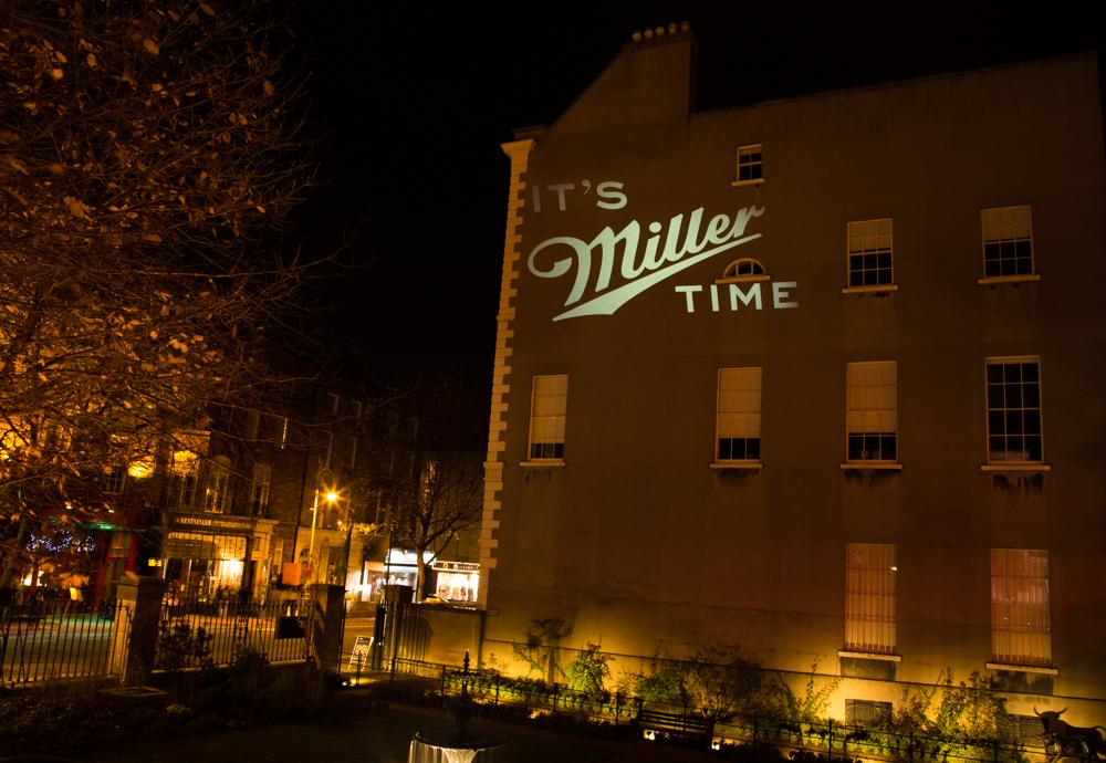 Not too long to go before the Miller Music Tour takes over Dublin's Mansion House... #ItsMillerTime http://t.co/2nInzYttQa