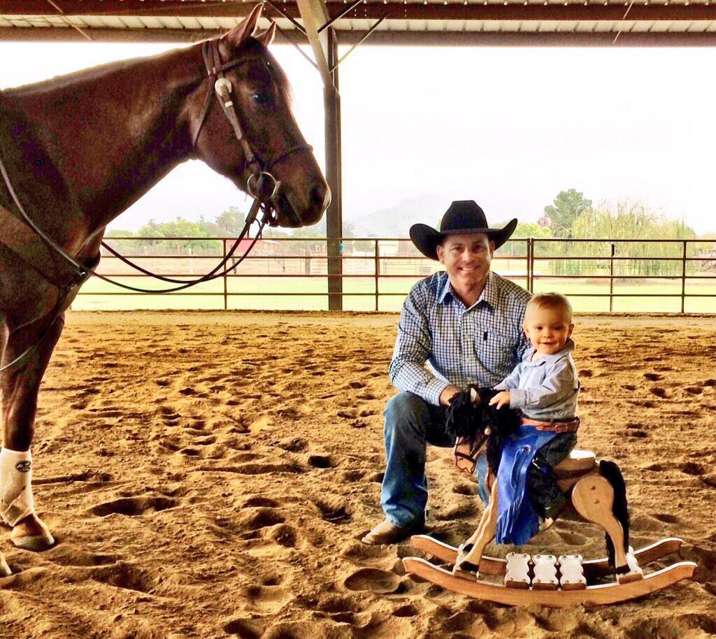 I used to live for the thrill of a good 8 second ride, now I live for this little boy right here by my side. http://t.co/cbt23YA68e
