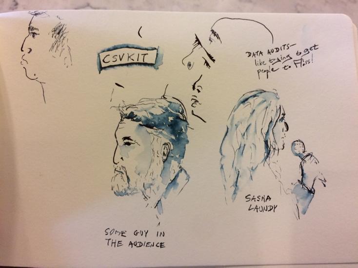 TIL about csvkit from @SashaLaundy's talk at #pydata! #sketchnotes http://t.co/gL8SqtdH4f