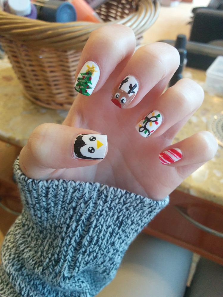 Lilian Nails On Twitter Time For Holiday Cheer Nails Nailart