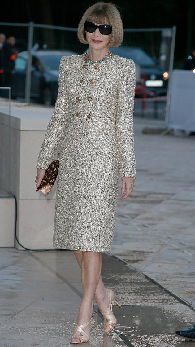 Anna Wintour implies that Kim and Kanye are not 'tasteful' http://t.co/RbsIwyJ2MJ http://t.co/nZmwvbUF2t