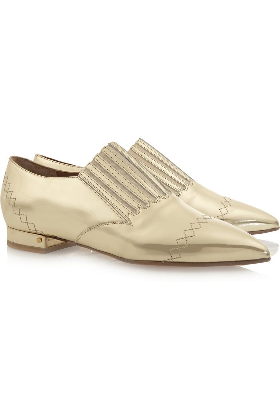 Nothing says stylish celebration quite like @laurencedacade's golden brogues! #Shoeoftheday  http://t.co/e2VW7pGB3c http://t.co/zSSf7FTaVd
