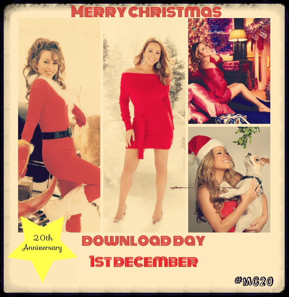 Join in the #MerryChristmas 20th Anniversary Download Day Event on 1st December http://t.co/vFYOQja4uP  #MC20 http://t.co/w19fyFZW9m