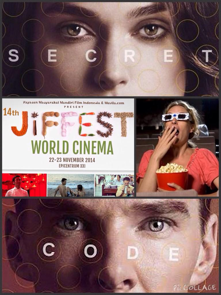 Surprise Screening at World Cinema #JiFFest14 check out this hint poster... Bet you know what movie it is! http://t.co/G0ROGKWl2U