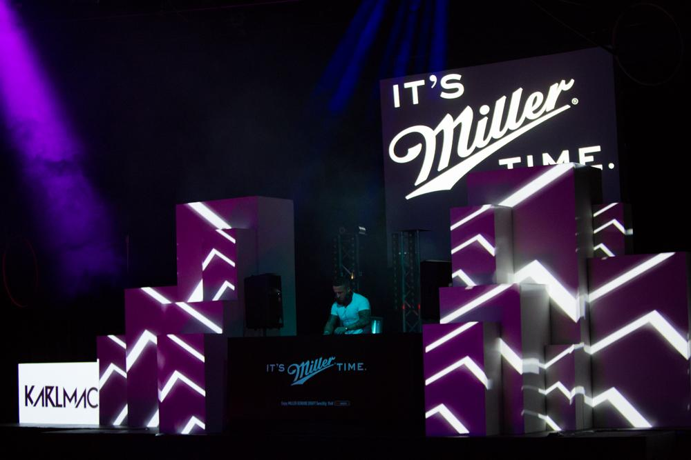 Our Soundclash winner @DjKarlmc90 kicking off the Miller Music Tour... #ItsMillerTime http://t.co/8C2YZm7flC