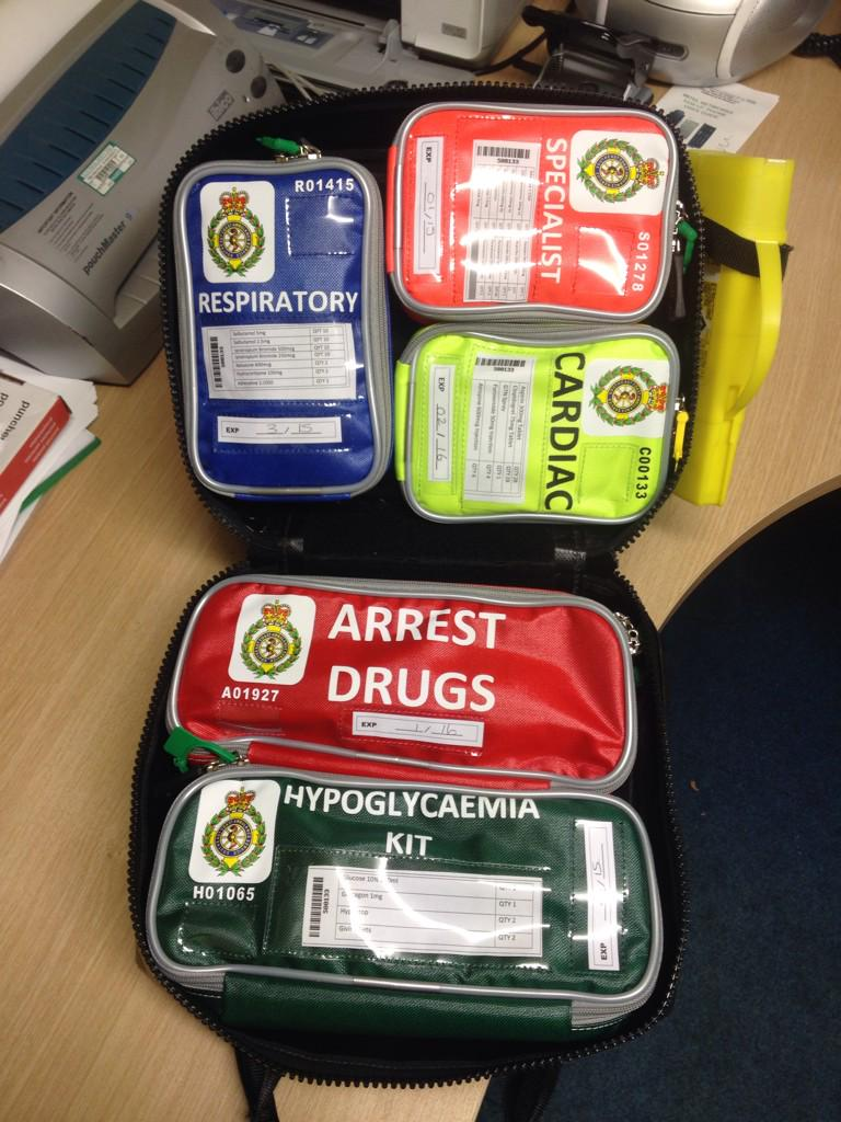 Tom Pullen On Twitter Quot Loving The New Modular Drugs Bag