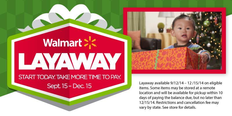 walmart on twitter fit more cheer under the christmas tree free layaway at walmart can help httptcogcbubqajxj httptcoainbmcyxcl - Walmart Christmas Layaway
