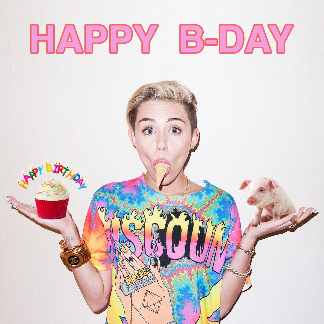 grattis på 22 årsdagen Grattis på 22 årsdagen @mileycyrus!   scoopnest.com grattis på 22 årsdagen