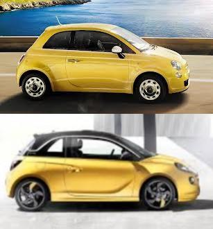 Gay Cars On Twitter Which Is More Gay Fiat 500 Or Vauxhall